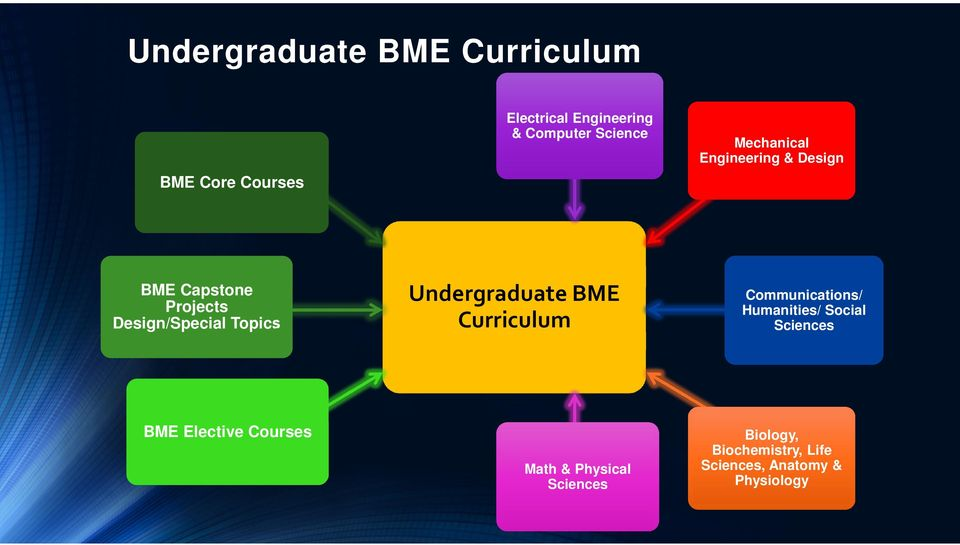 Undergraduate BME Curriculum Communications/ Humanities/ Social Sciences BME Elective