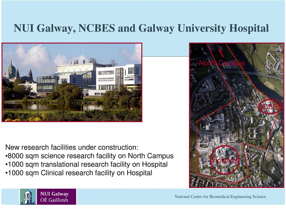 research facility on North Campus 1000 sqm translational research