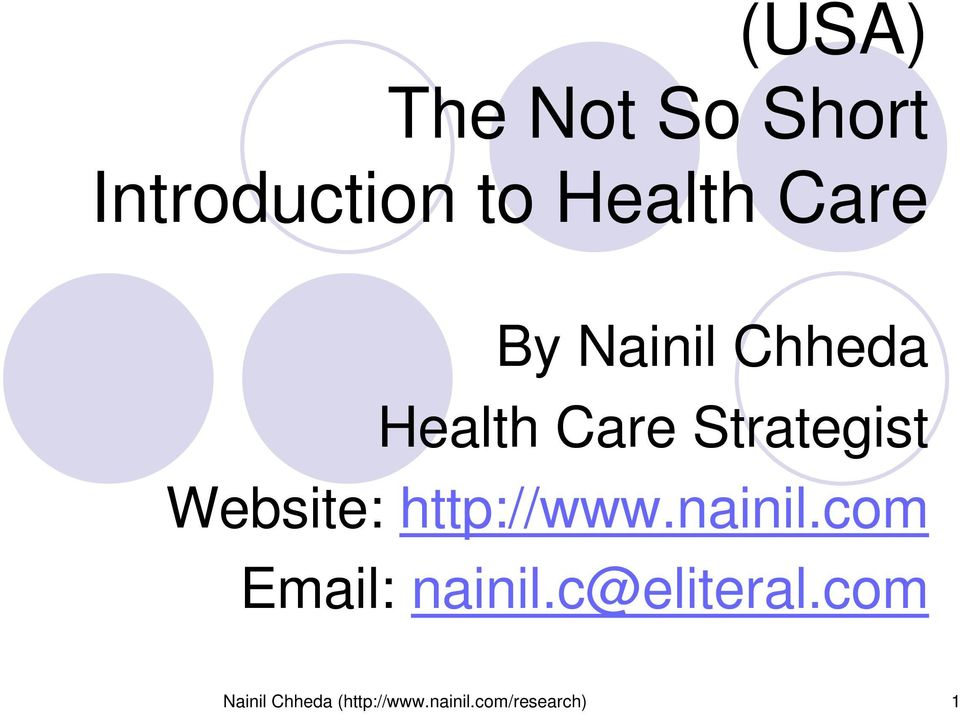 Website: http://www.nainil.com Email: nainil.