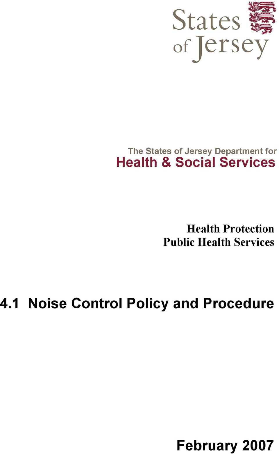 Protection Public Health Services 4.