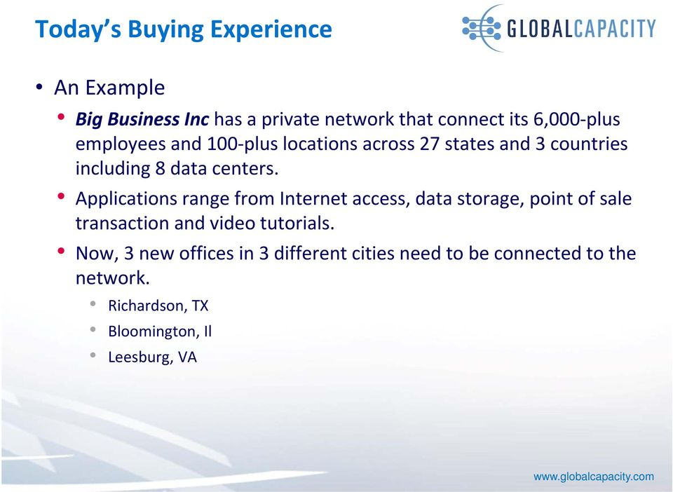 Applications range from Internet access, data storage, point of sale transaction and video tutorials.