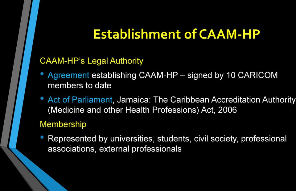Accreditation Authority (Medicine and other Health Professions) Act, 2006 Membership