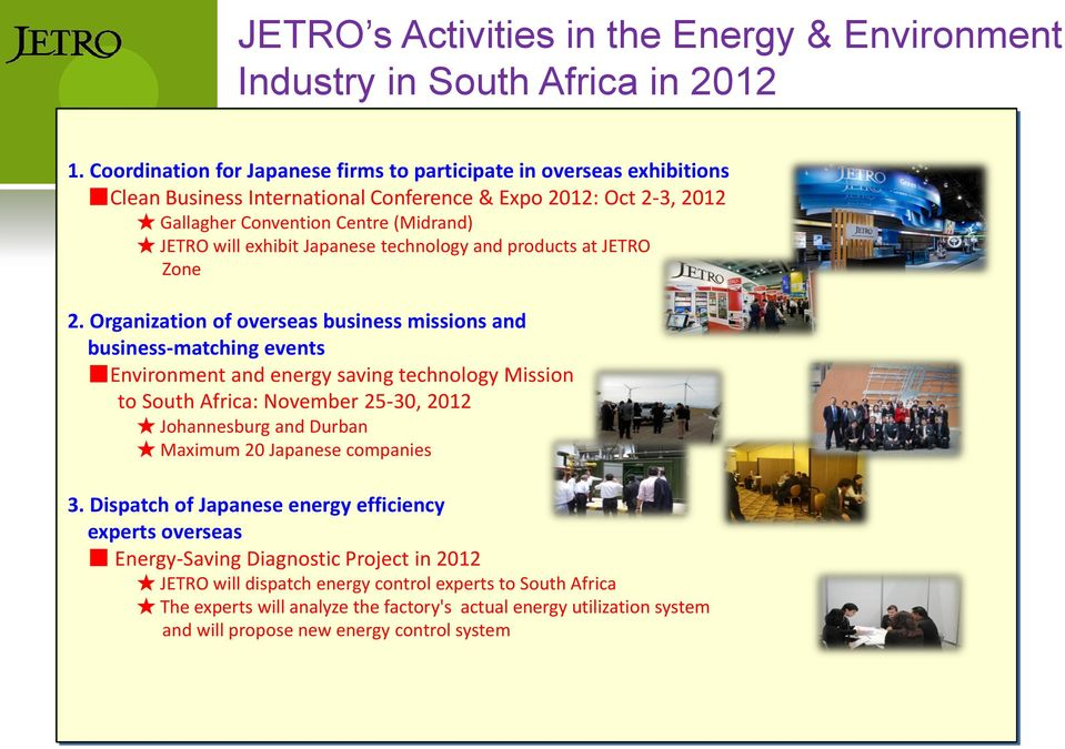 Japanese technology and products at JETRO Zone 2.