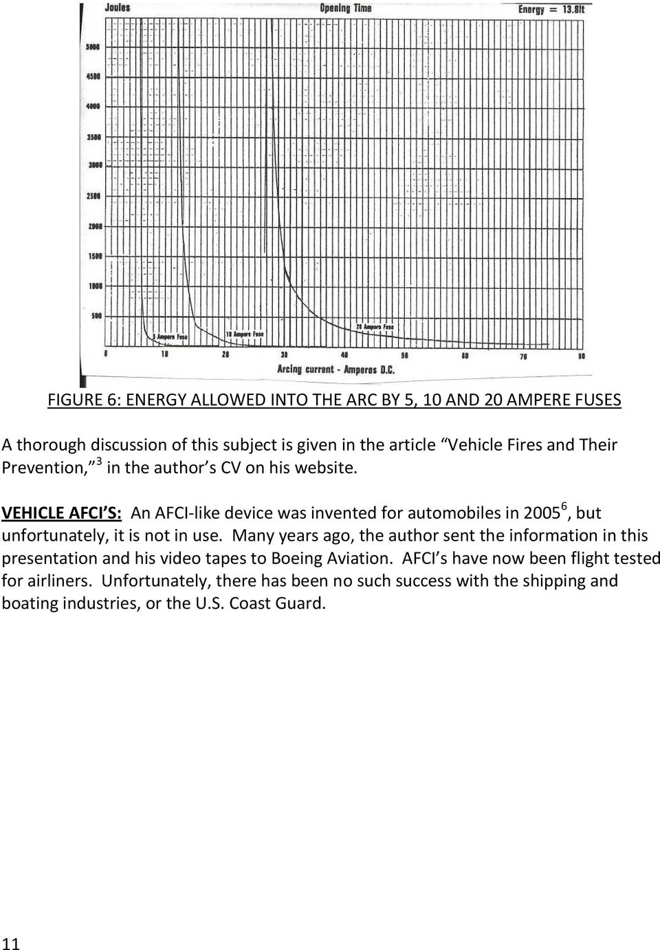 Forensic Engineering Analysis Of Electrical Fires Due To Arcing Pdf Afci Fundamentals Arc Fault Circuit Interrupter Vehicle S An Like Device Was Invented For Automobiles In 20056