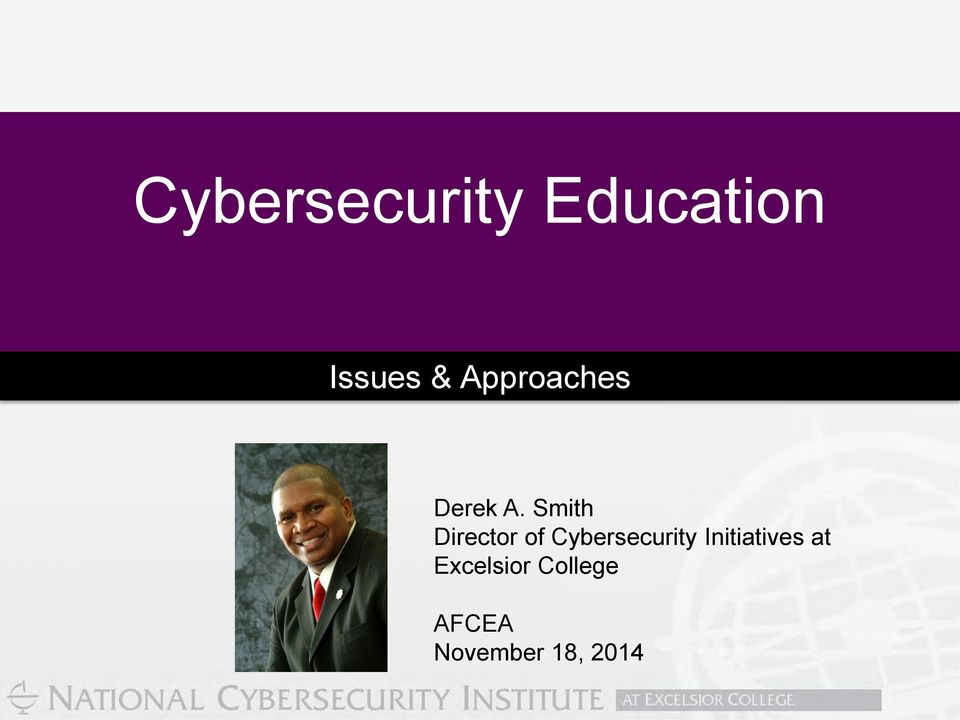 Smith Director of Cybersecurity