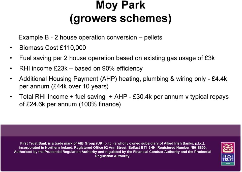 Additional Housing Payment (AHP) heating, plumbing & wiring only - 4.