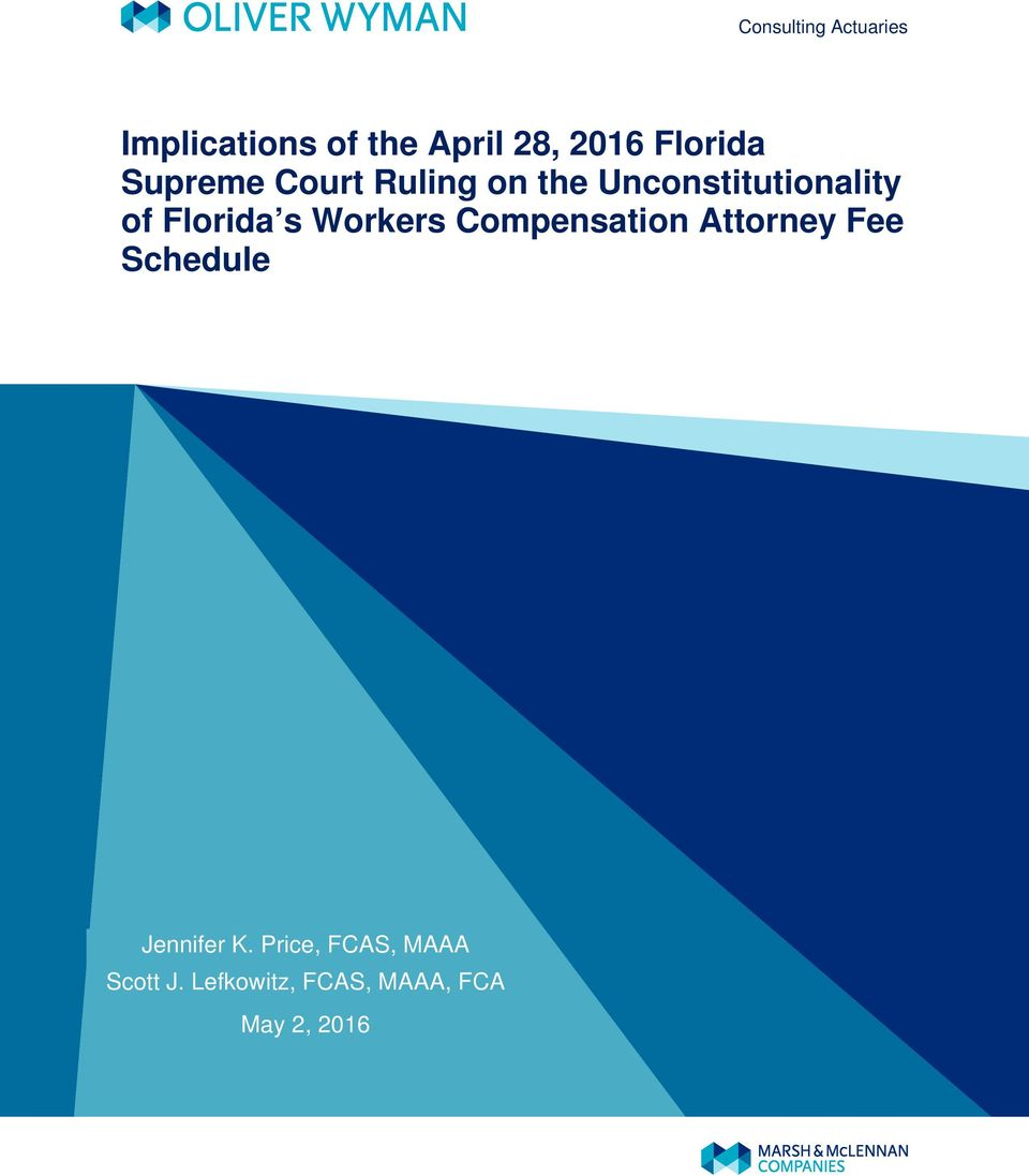 Florida s Workers Compensation Attorney Fee Schedule Jennifer