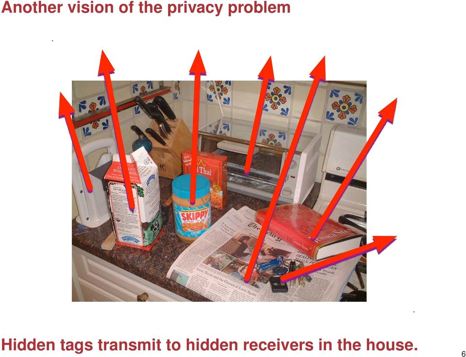 . Hidden tags transmit