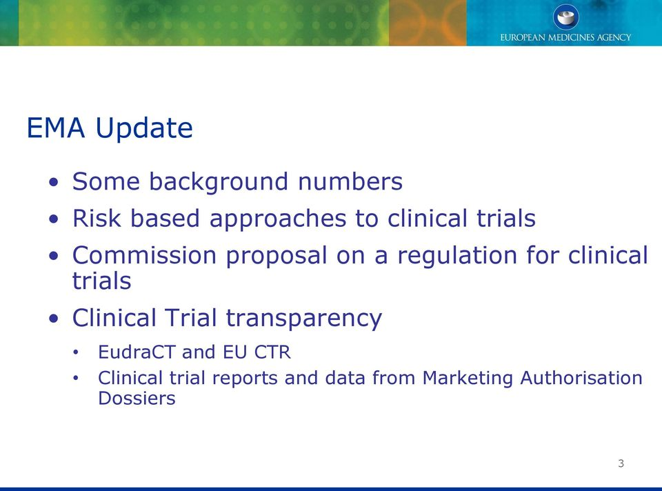 clinical trials Clinical Trial transparency EudraCT and EU CTR