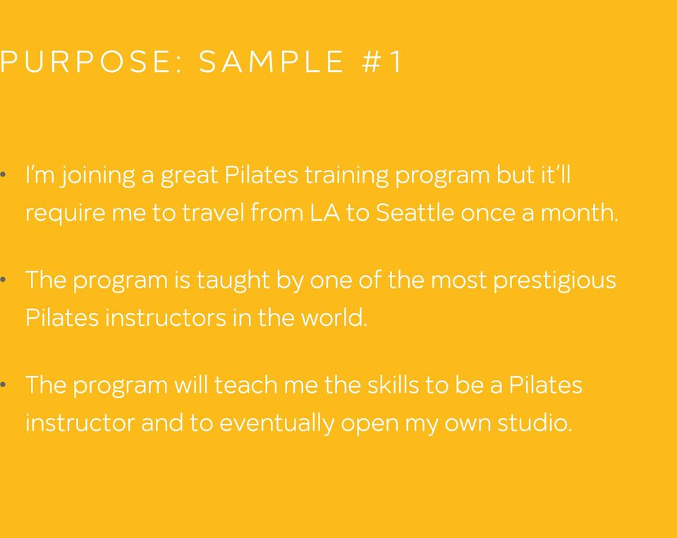 The program is taught by one of the most prestigious Pilates instructors in