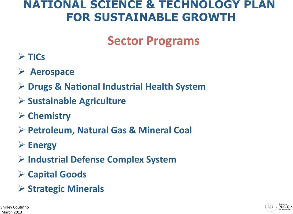 Sustainable Agriculture Chemistry Petroleum, Natural Gas & Mineral