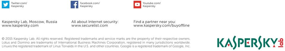 Registered trademarks and service marks are the property of their respective owners.