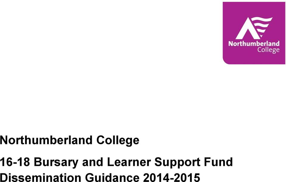 Learner Support Fund