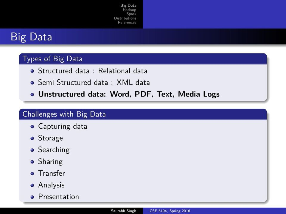 PDF, Text, Media Logs Challenges with Capturing data