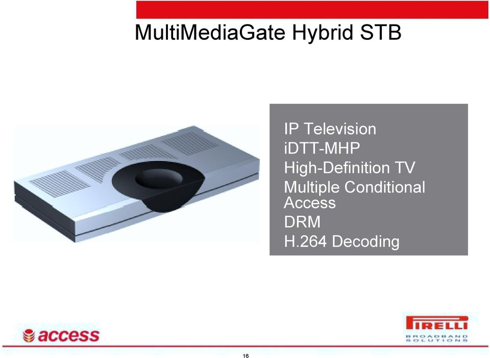 High-Definition TV Multiple