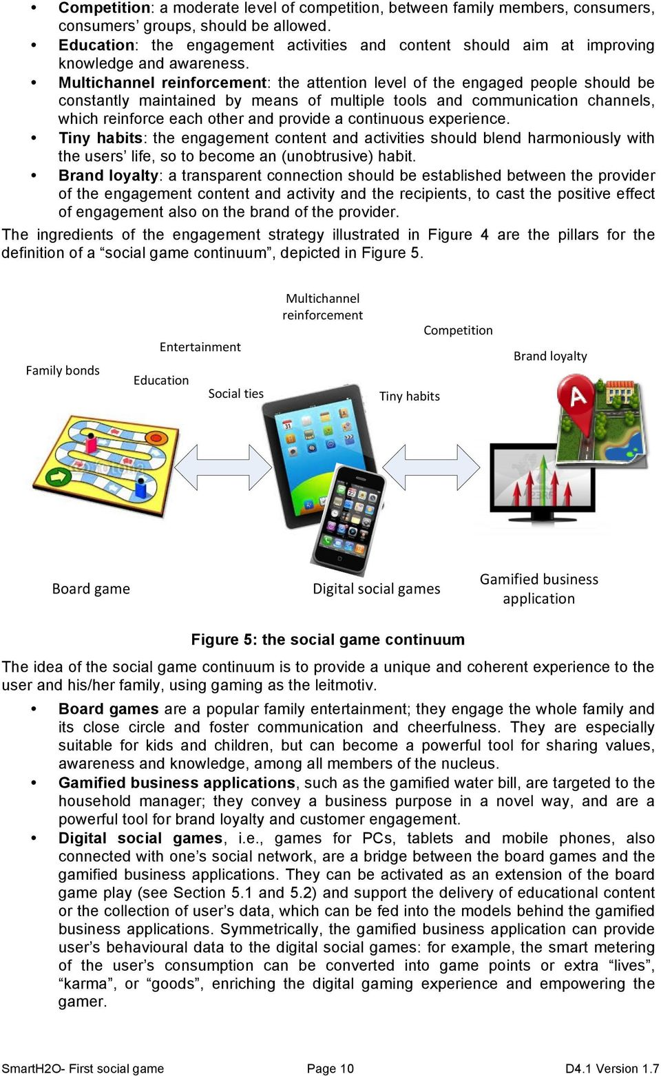 Multichannel reinforcement: the attention level of the engaged people should be constantly maintained by means of multiple tools and communication channels, which reinforce each other and provide a