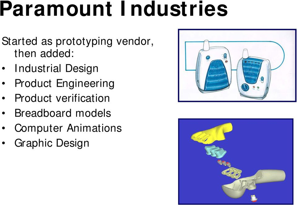 Product Engineering Product verification