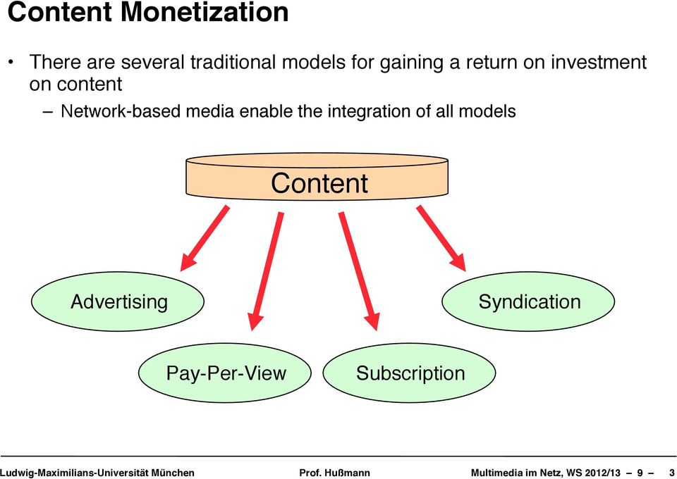 Network-based media enable the integration of all
