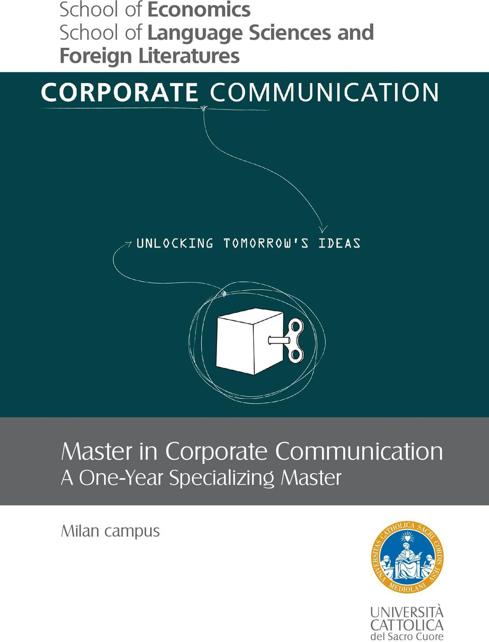 Literatures Master in Corporate