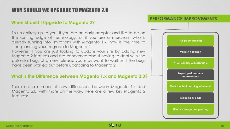 x, now is the time to start planning your upgrade to Magento 2.