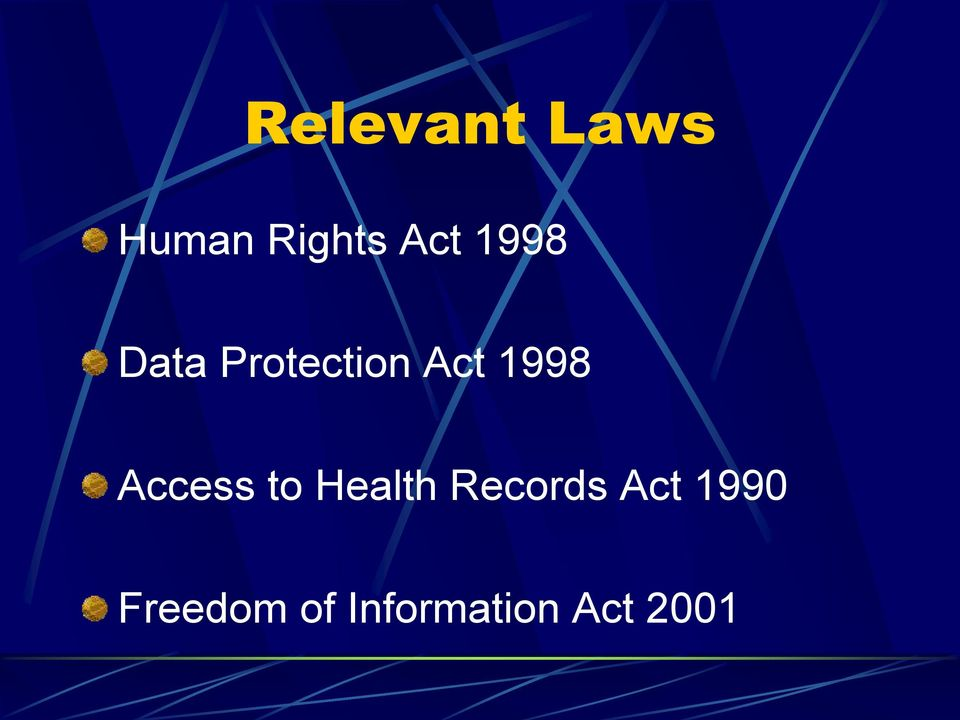 Access to Health Records Act