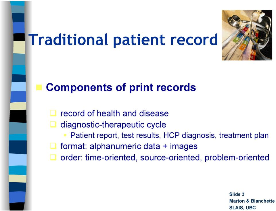 report, test results, HCP diagnosis, treatment plan format: