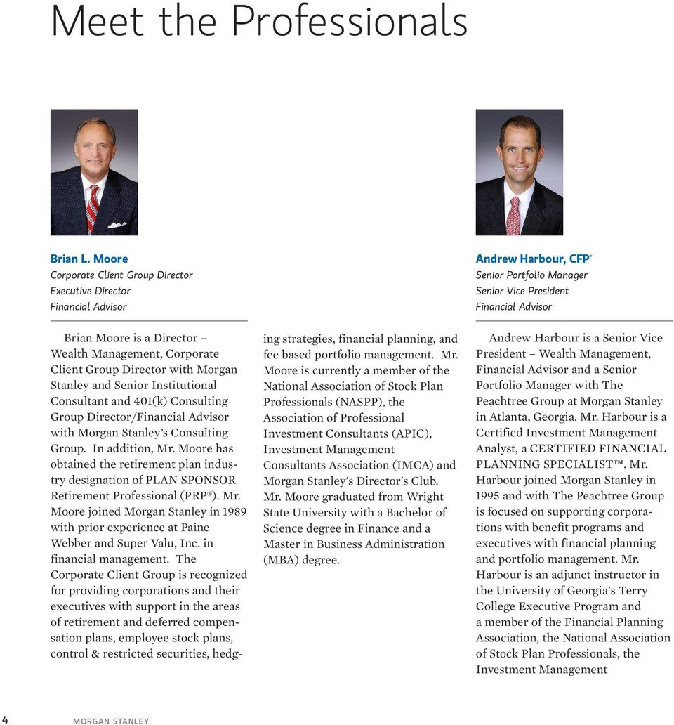 The Peachtree Group at Morgan Stanley - PDF