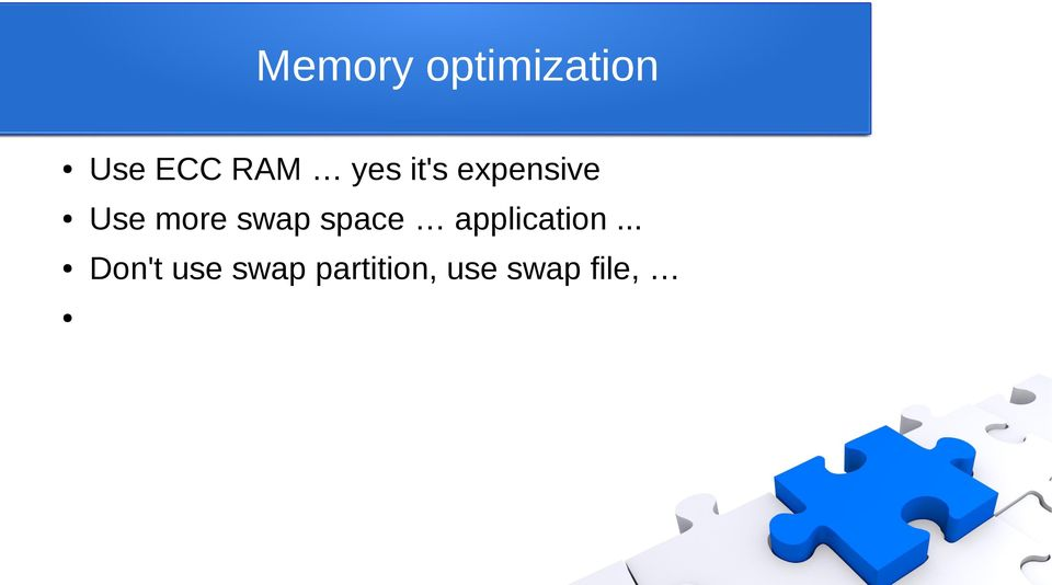 swap space application.