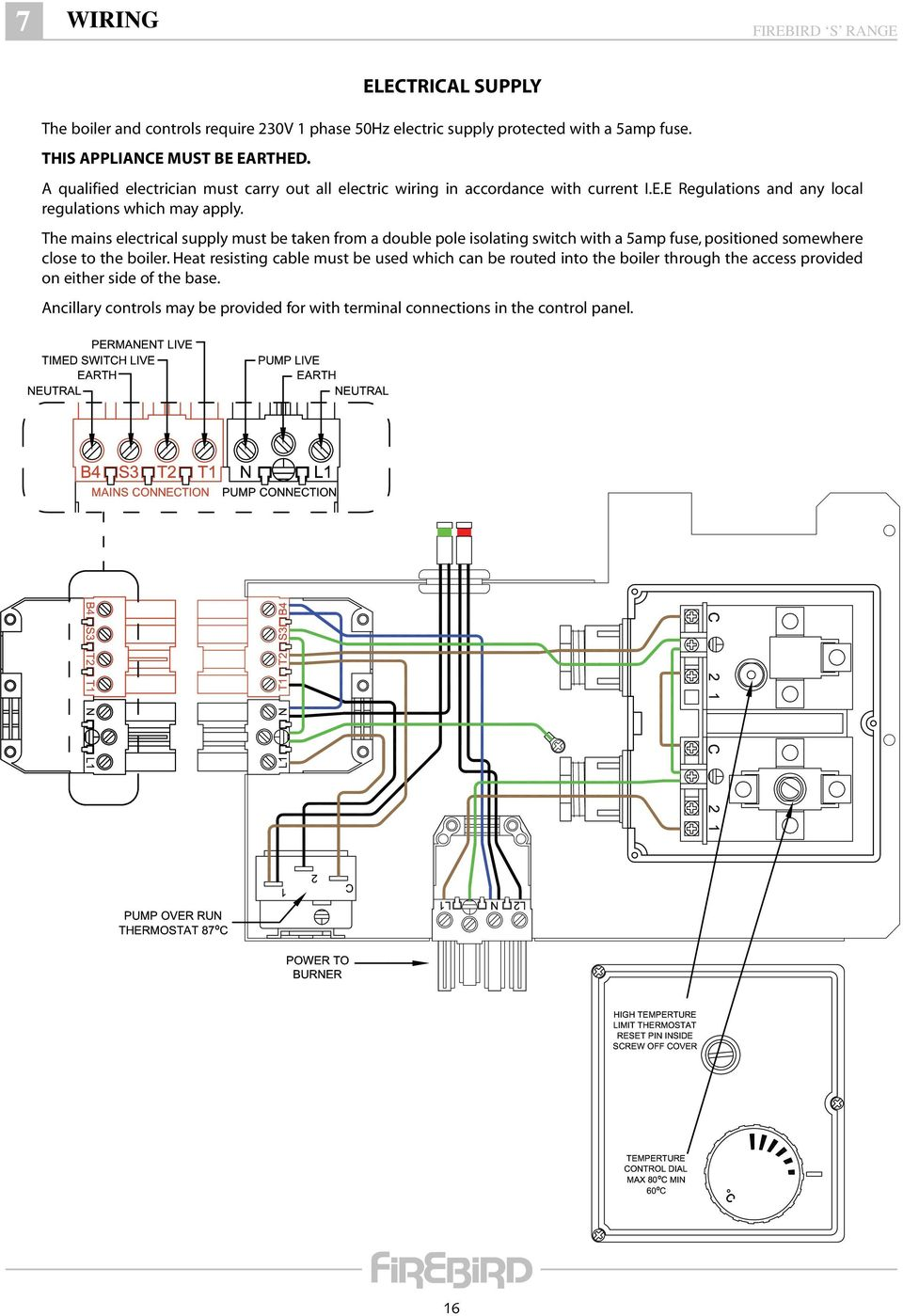 Ta 2000 Thermostat Wiring Diagram 33 Images Ta2000 Page 18 Firebird Boiler Efcaviation Com At