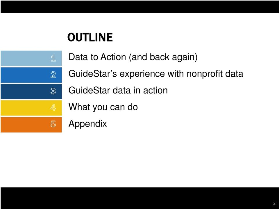 with nonprofit data GuideStar