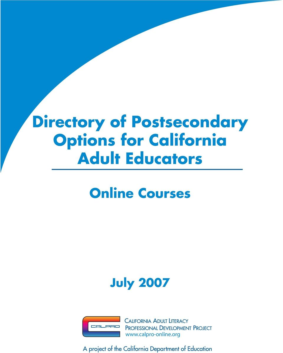 Adult Educators Online