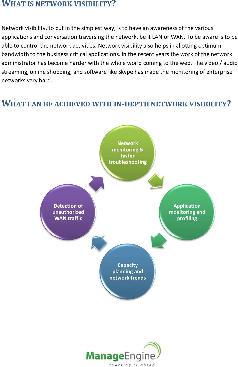 In the recent years the work of the network administrator has become harder with the whole world coming to the web.
