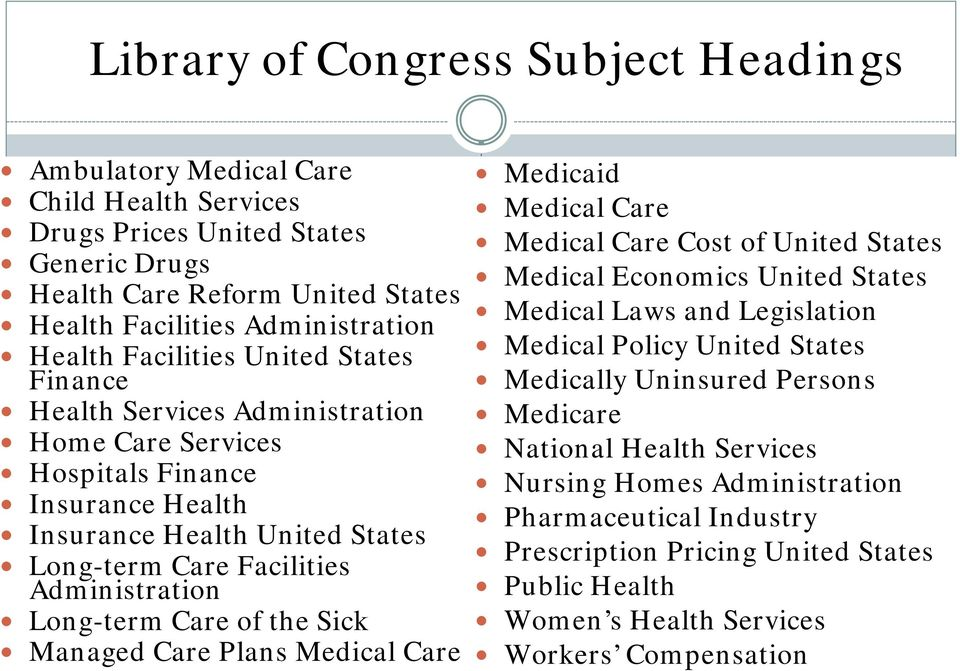 Care of the Sick Managed Care Plans Medical Care Medicaid Medical Care Medical Care Cost of United States Medical Economics United States Medical Laws and Legislation Medical Policy United States