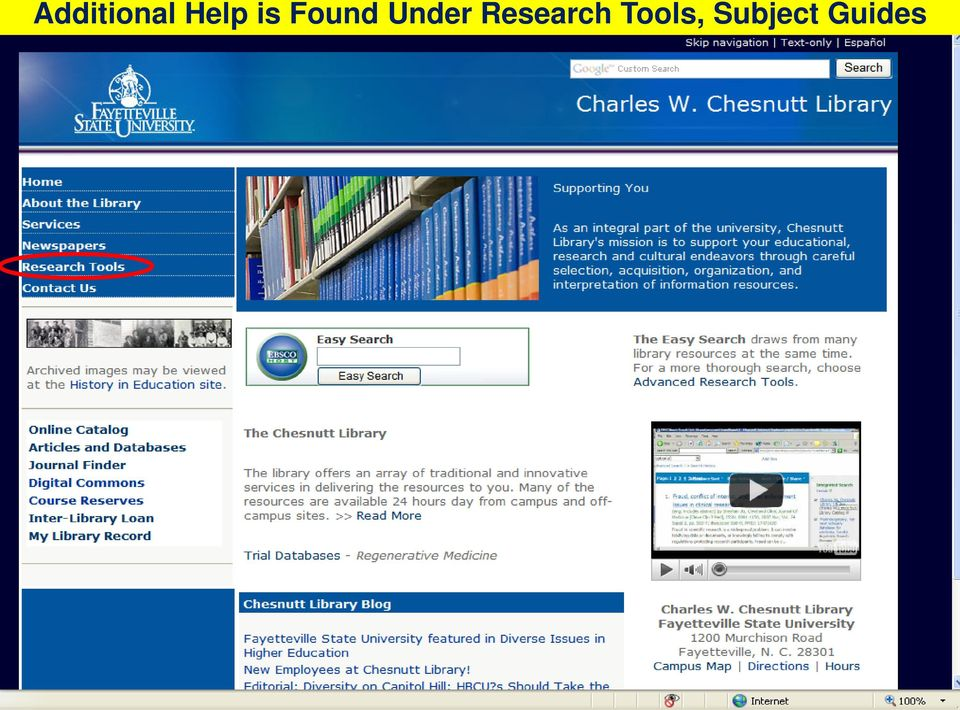 Research Tools,