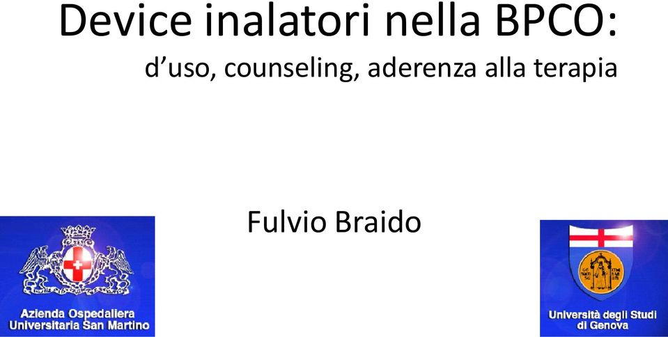 counseling, aderenza