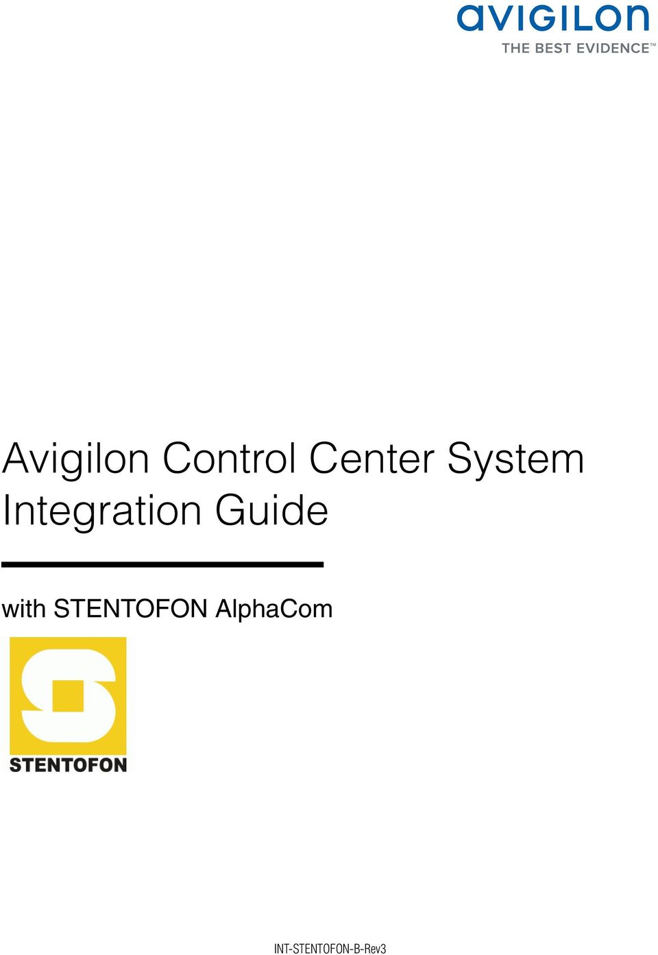 Guide with STENTOFON