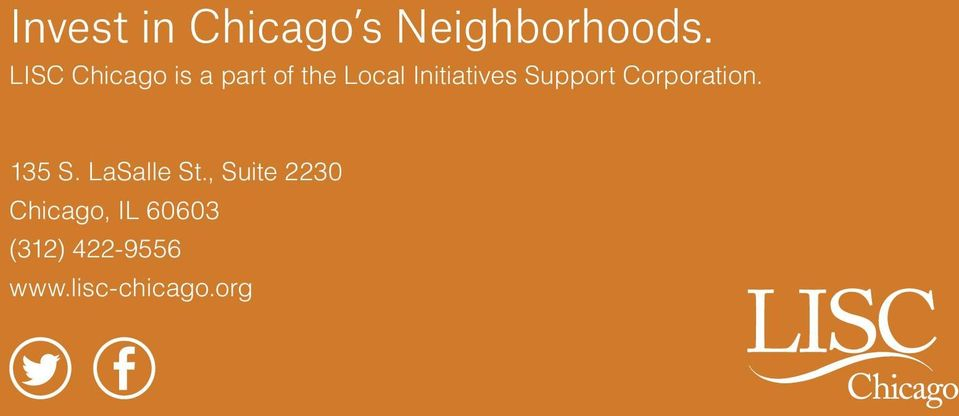 Initiatives Support Corporation. 135 S.