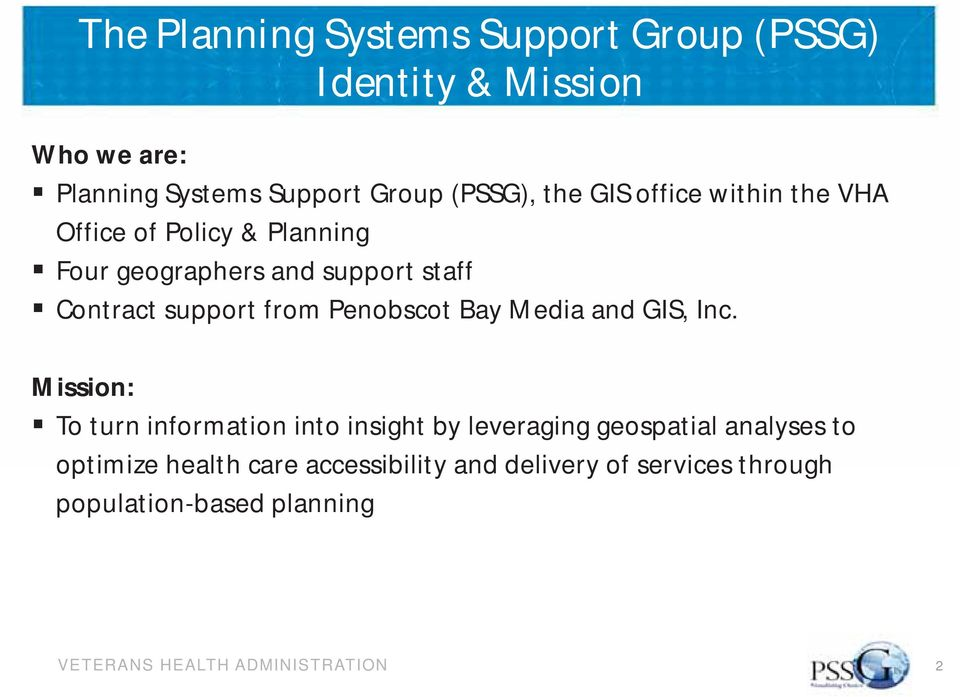Contract support from Penobscot Bay Media and GIS, Inc.