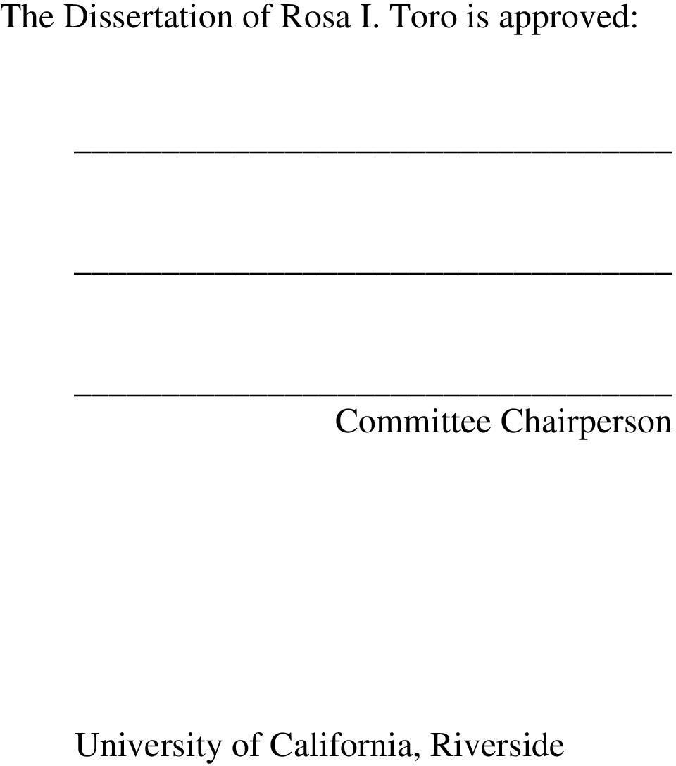 Committee Chairperson