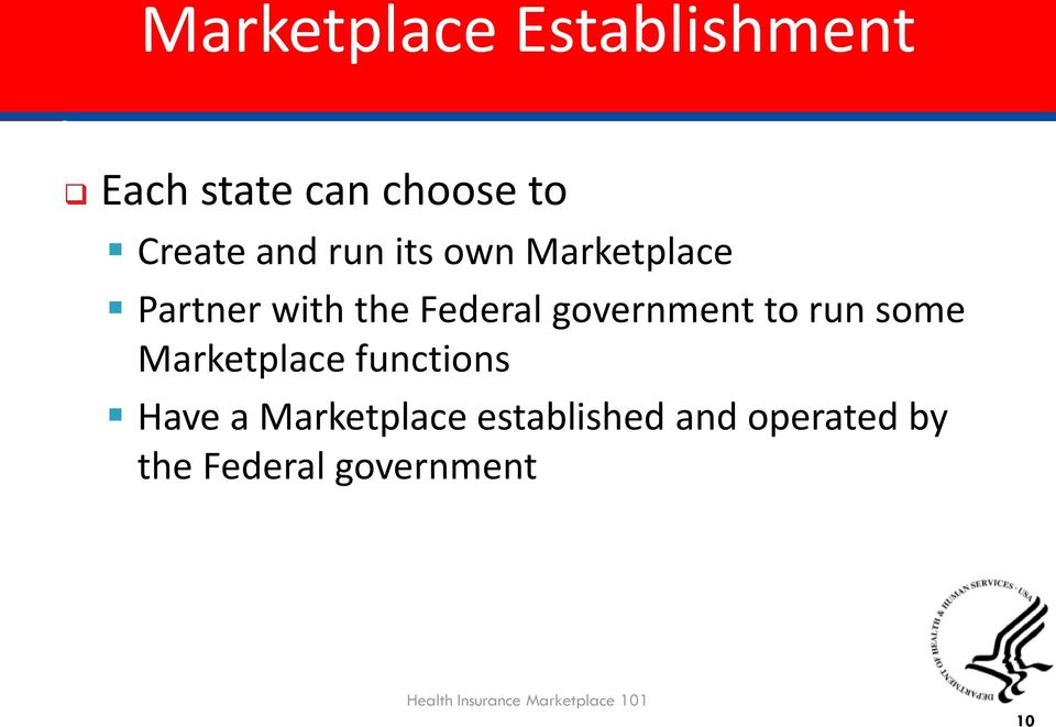 some Marketplace functions Have a Marketplace established and
