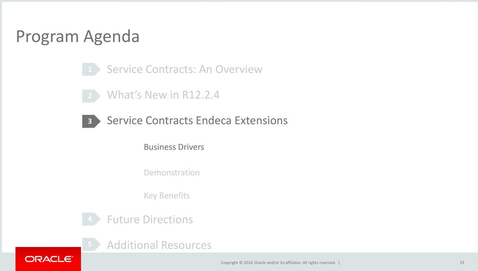 2.4 Service Contracts Endeca Extensions Business