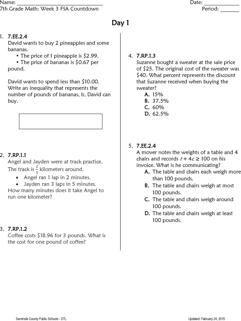 usa test prep answer math These questions will help you increase your common core test score test prep review test we have provided common core practice questions and answers for self.