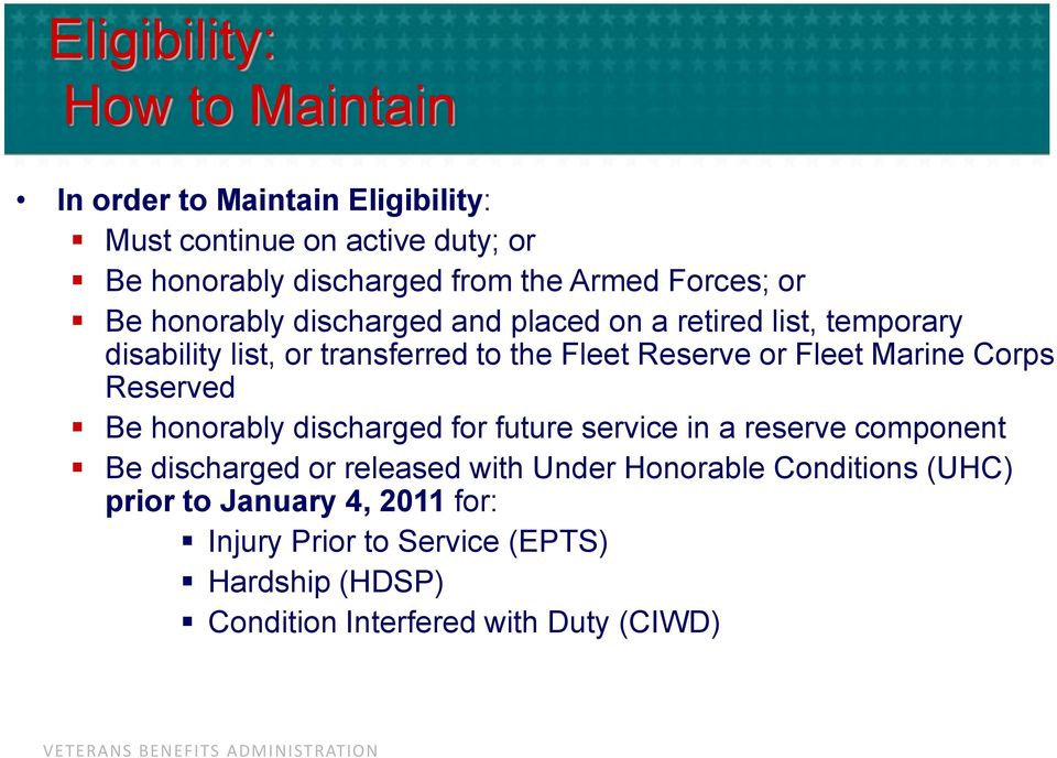 Fleet Marine Corps Reserved Be honorably discharged for future service in a reserve component Be discharged or released with Under