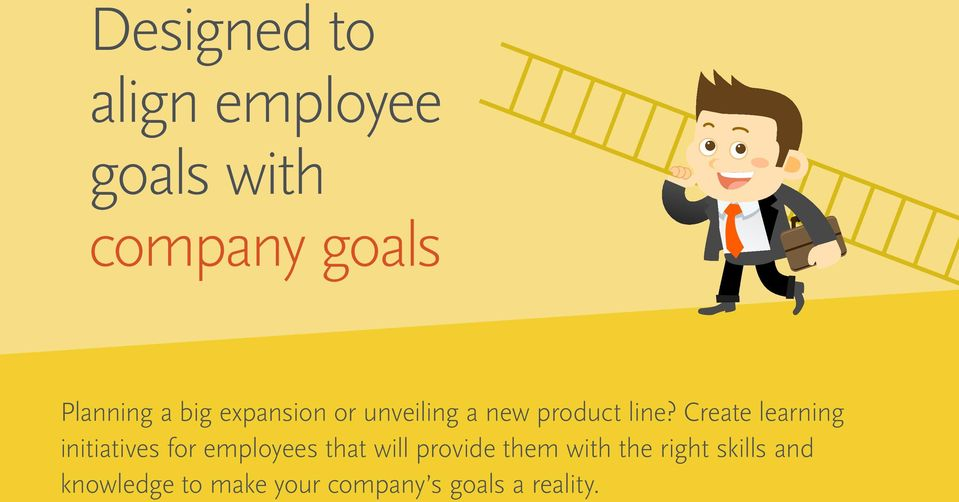 Create learning initiatives for employees that will provide