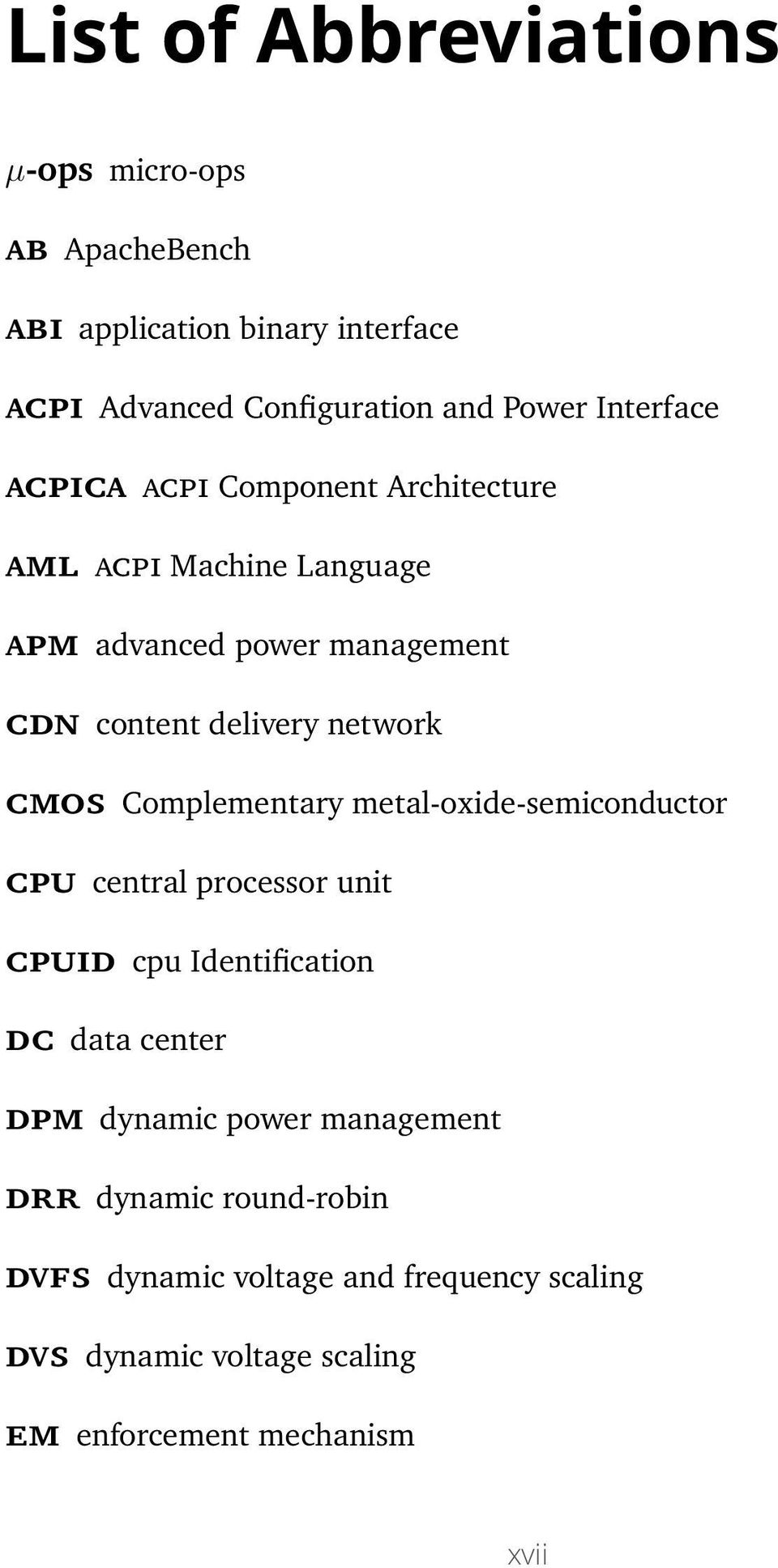 cmos Complementary metal-oxide-semiconductor cpu central processor unit cpuid cpu Identification dc data center dpm dynamic power