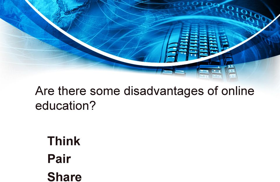 online education?
