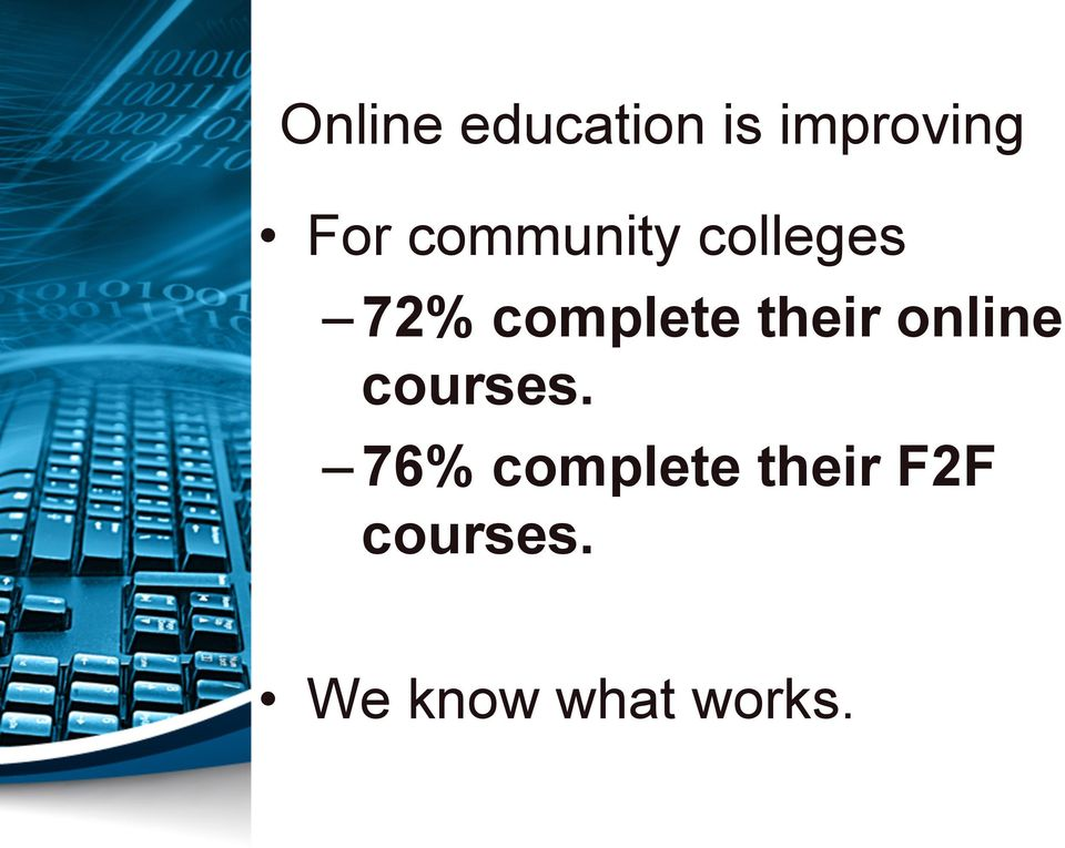 their online courses.