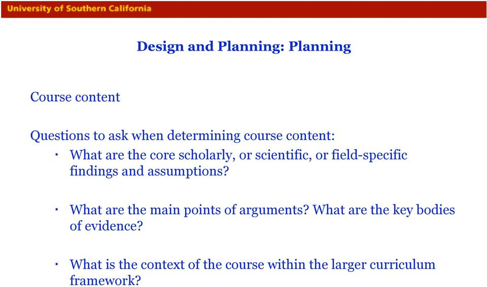 findings and assumptions? What are the main points of arguments?