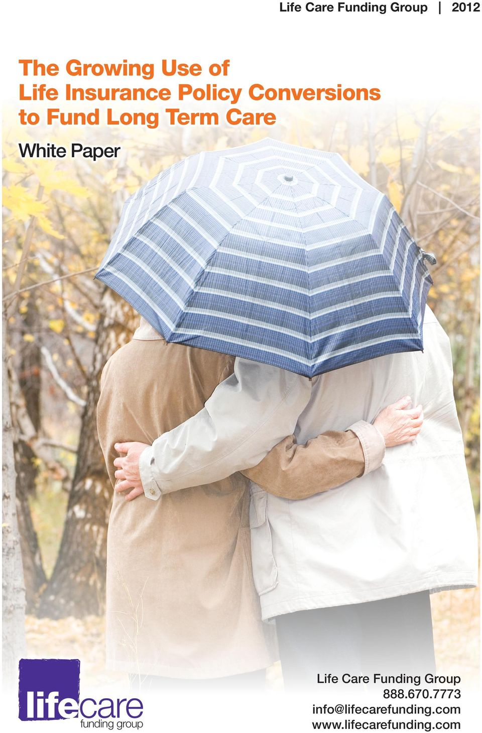 White Paper lifecare funding group Life Care Funding