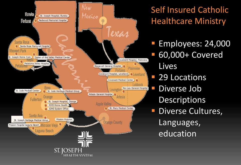 Covered Lives 29 Locations Diverse Job